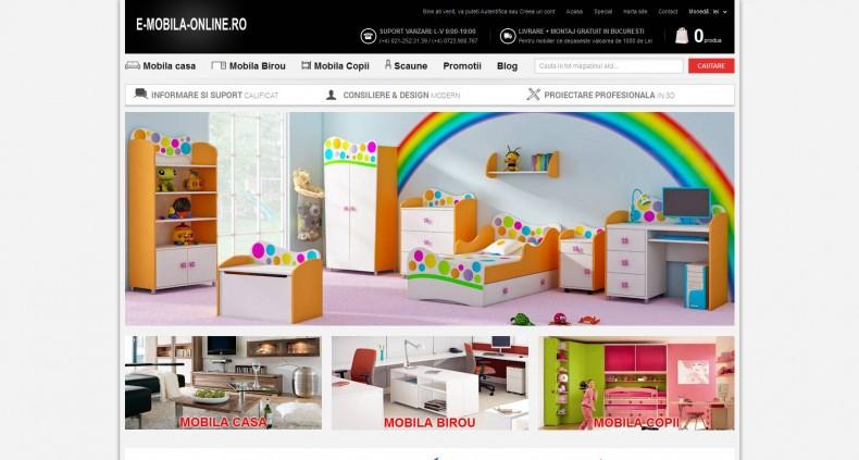 Magazinul Online e-mobila-online.ro