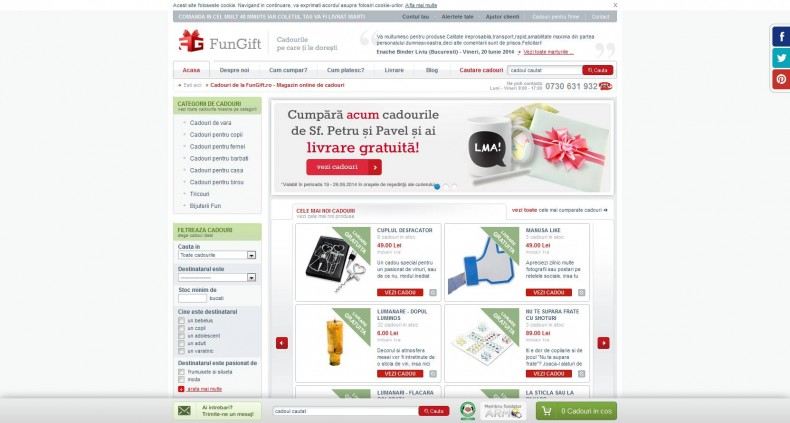 Magazinul Online fungift.ro