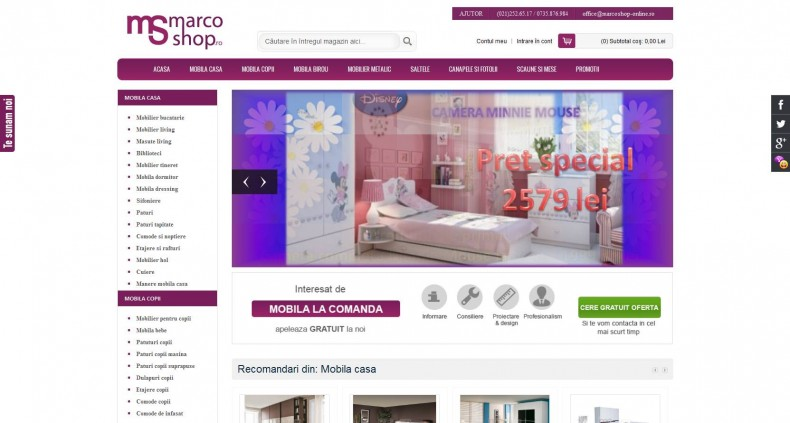 Magazinul Online marcoshop-online.ro