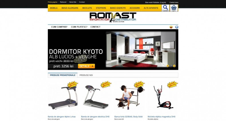 Magazinul Online mobila-fitness.ro