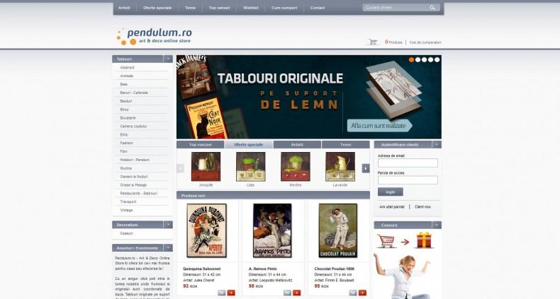 Magazinul Online pendulum.ro