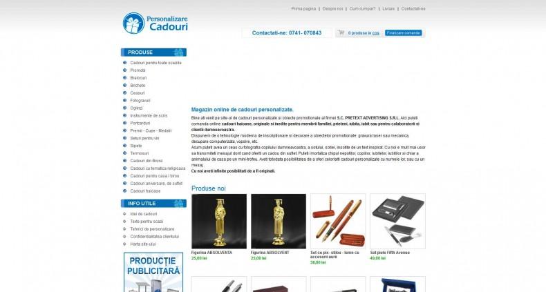 Magazinul Online personalizarecadouri.ro
