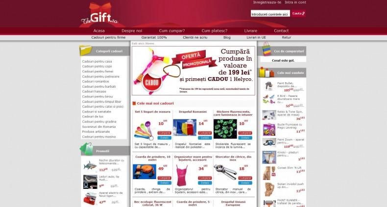 Magazinul Online thegift.ro