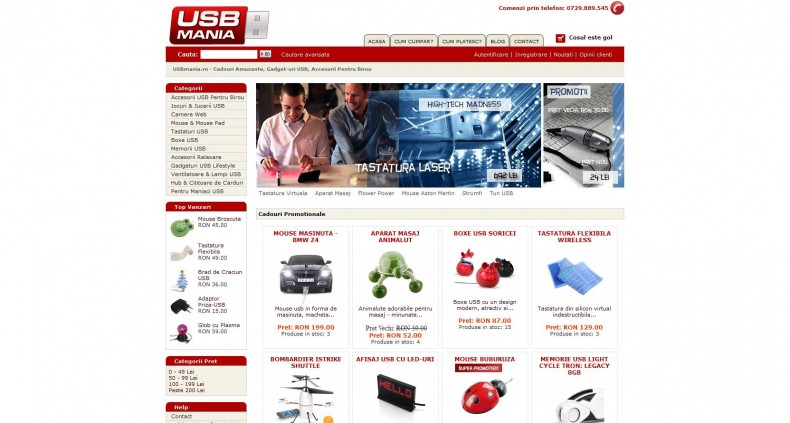 Magazinul Online usbmania.ro