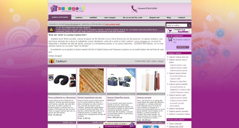 Magazinul Online zaragoo.ro