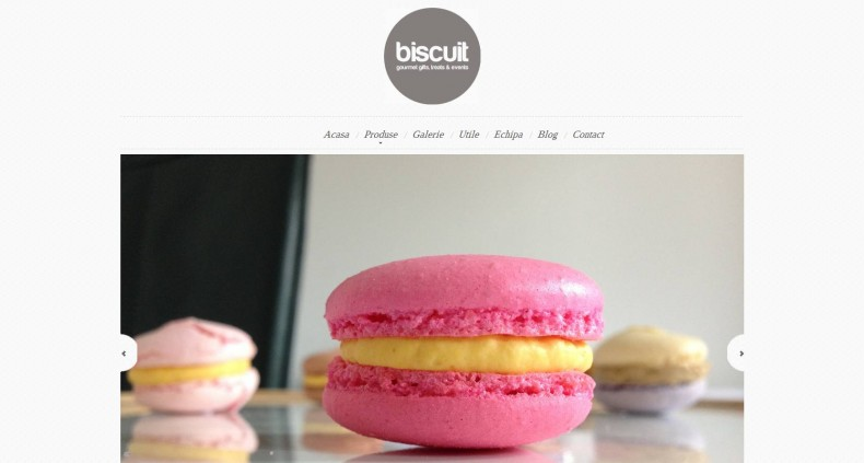 Magazinul online biscuit.ro