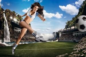 femei in fotbal