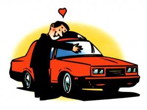 iubim masina