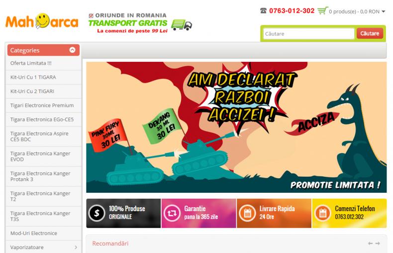Magazinul Online mahoarca.ro